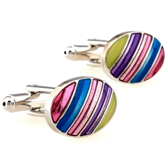 Mens Cuff Links Polished