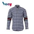 2018 New products Patchwork Long Sleeve Shirts For Men