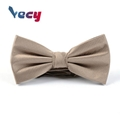 Wholesale Dot design Golden 100% Polyester Bow Tie