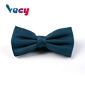 High Quality Dark Green 100% Silk Bow Ties for Men