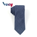 Fashion Navy Blue Silk Dot Pattern Neck ties for Man