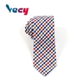 Wholesale Simplified Plaid Pattern Neck ties for adults and students