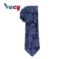 New Product 2018 Blue Flower Pattern Neck ties for man