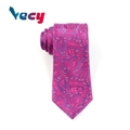 New Product Red Paisley Pattern Necktie for Party