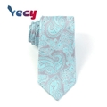 2018 New Product Blue Paisley Pattern Necktie for Man