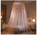 Luxury Home Round Top Fabric Mesh Mosquito Net