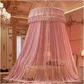 Round Transparent Very Large Fiber Portable Hanging Umbrella Mosquito Net