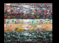 wholesale cheap 100% printed viscose spun rayon fabric