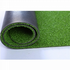 Turfing PP cut pile with PVC backing grass carpet