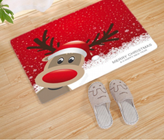 Hot sale Manufacturer 3D Printing Christmas Cotton Carpet