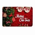 3D Merry Christmas Mat Slip Creative Christmas Door Mat Floor Table Coffee Mat