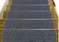 No-slip stair tread mat carpet