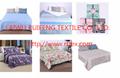 hot sell product fashion printed 4pcs bedding set