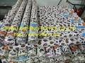 100% spun rayon printed fabric 4