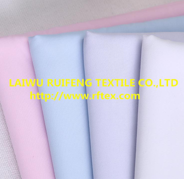 cotton/polyester fabric cvc cotton 60/40 Dyeing fabric to make T-shirt