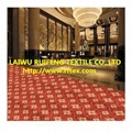 Anti slip Custom Luxury Hotel Corridor Printed Floor Carpet