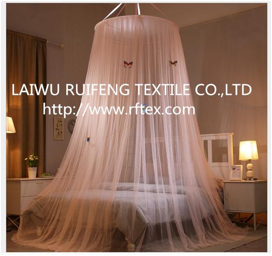 Luxury Home Round Top Fabric Mesh MosquitoNet 3