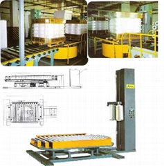 T Series on-line auto stretch wrapping machine