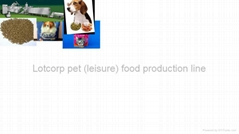 Pet (leisure)  inflating food processing line