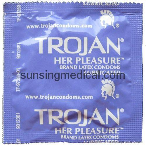 one condoms trojan