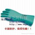 橡膠乳膠防護防化手套