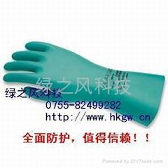 橡胶乳胶防护防化手套