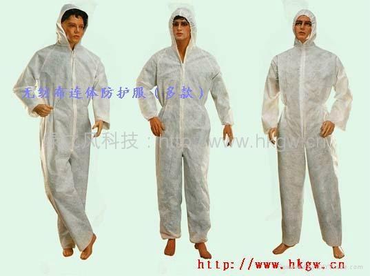無紡佈防護服防化服 1