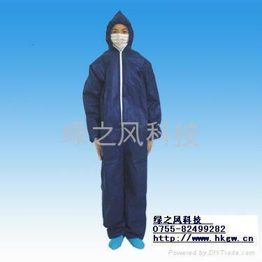 無紡佈防護服防化服 3