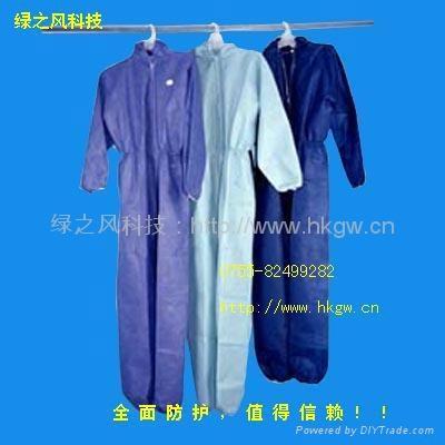 無紡佈防護服防化服 4