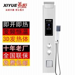 希悅集成熱水器 集成淋浴屏熱水器 不鏽鋼淋浴 即熱式熱水器003K