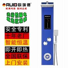 欧瑞德集成热水器 集成淋浴屏热水器 蓝牙音响 即热式热水器005K