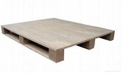 上海实木托盘卡板垫仓板木栈板生产厂家