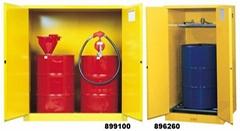 油桶储存柜 单桶油桶柜 防火柜防爆柜 化学品安全柜(55加仑)