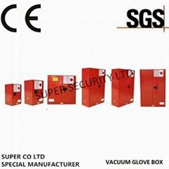 可燃液體紅色防爆櫃液體安全櫃