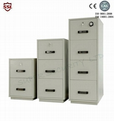 Fire Resistant Filing Cabinet 4 drawers ,2 hour fire rating cabinet