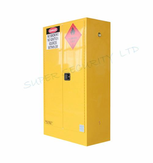 Yellow Paint Chemical Flammable Storage Cabinet For Dangerous Goods 250L 1  ...