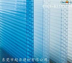 深圳蜂窩陽光板