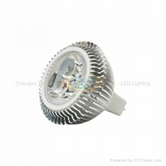 5W GU5.3 Base MR16 LED Spot Light Bulb