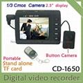 shenzhen cheap portable CCTV camera DVR kit CMOS camera with mini DV