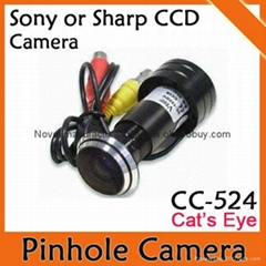 door eye hole camera, Door peep hole Sony ccd cctv camera
