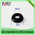 CS to M12 lens holder adapter, M12 camera board mount lenses adapter