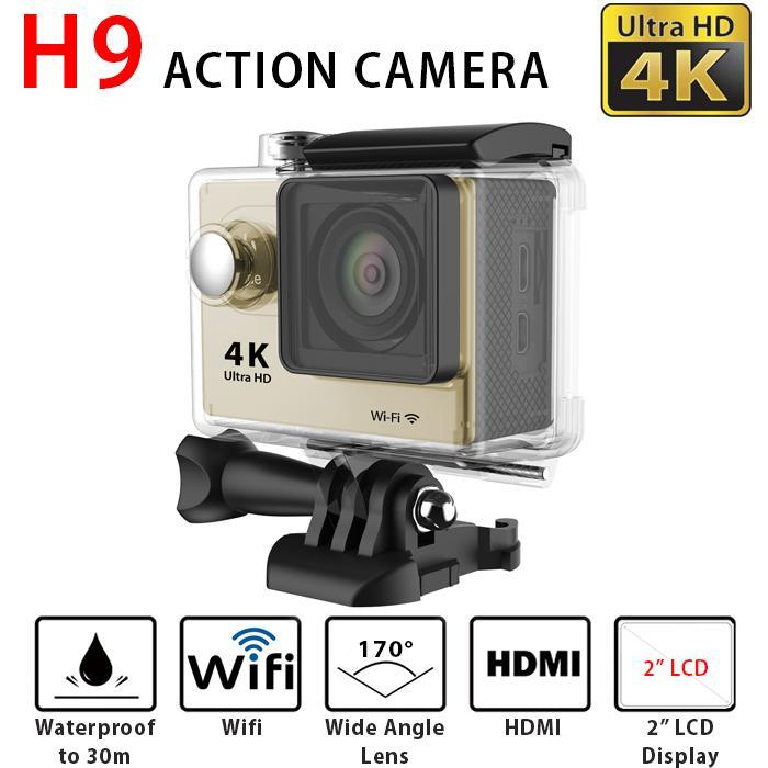 original H9/H9R action sport camera 4K wifi Ultra shenzhen factory outlet supply