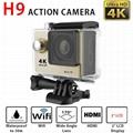 original H9/H9R action sport camera 4K wifi Ultra shenzhen factory outlet supply 1