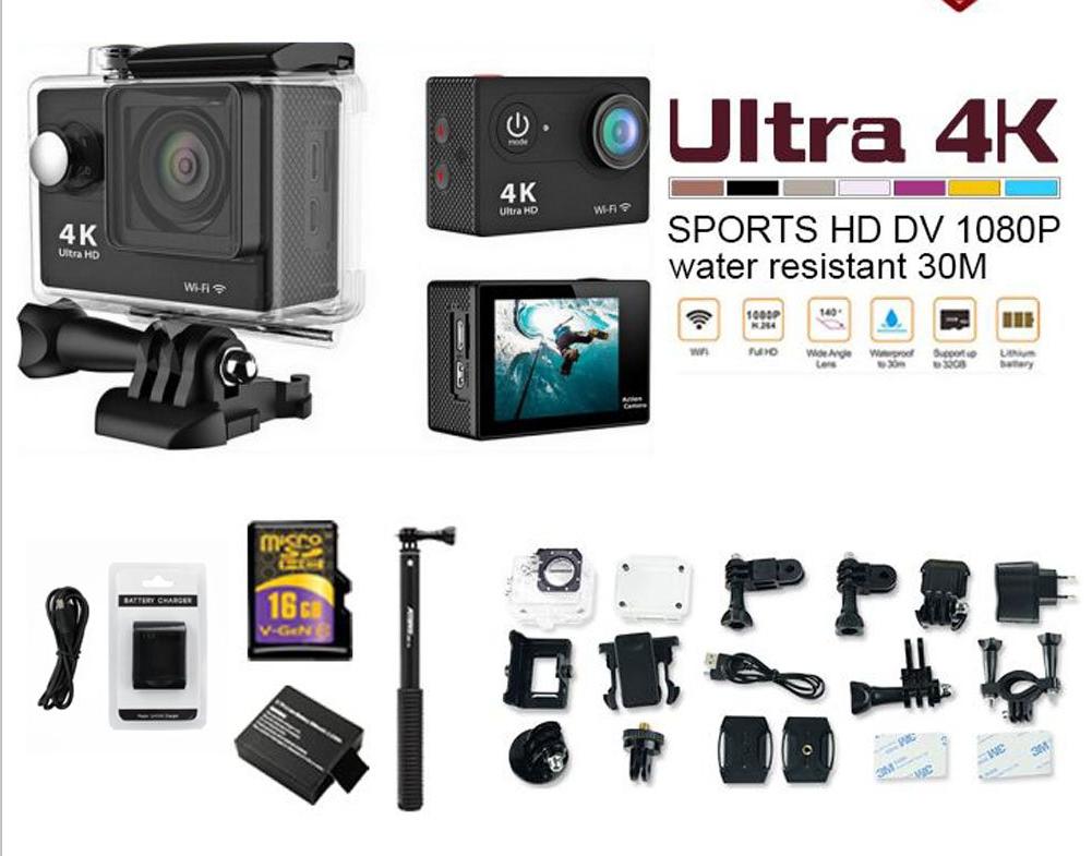 original H9/H9R action sport camera 4K wifi Ultra shenzhen factory outlet supply 2