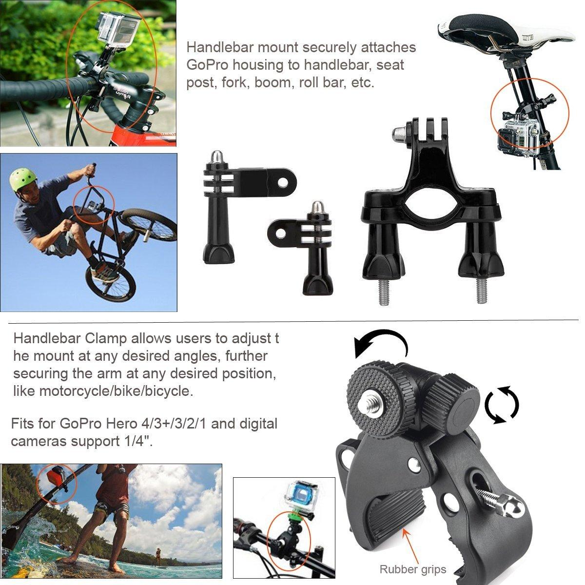 china shenzhen factory action camera accessories for gopro xiaoyi sony Rollei