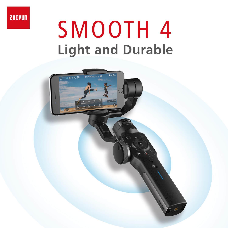 2018 original Zhiyun Smooth 4 3-Axis Gimbal Stabilizer for iphone