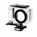 China waterproof housing shell case for  xiaomi mijia compact 4k action camera  2