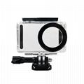 China waterproof housing shell case for  xiaomi mijia compact 4k action camera  9