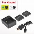 China factory xiaomi yi 4k accessories for xiaoyi 1080P, 4K and 4K+ action cam