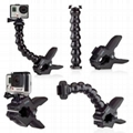 China factory gopro jaws flex clamp for hero 6/5/4/5 session camera